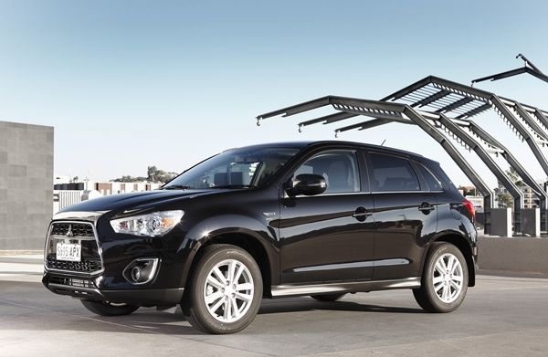 2013 Mitsubishi ASX 4WD Aspire DiD 6MT EXT