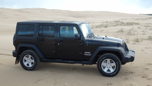 Jeep Wrangler Unlimited ext