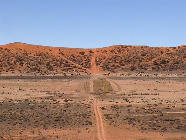 Big Red Project Pajero, Simpson Desert