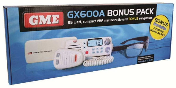 GME GX600A VHF Bonus Pack