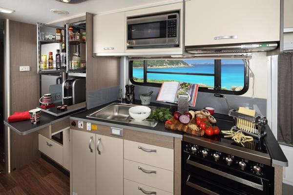 2014 Avida Longreach kitchen