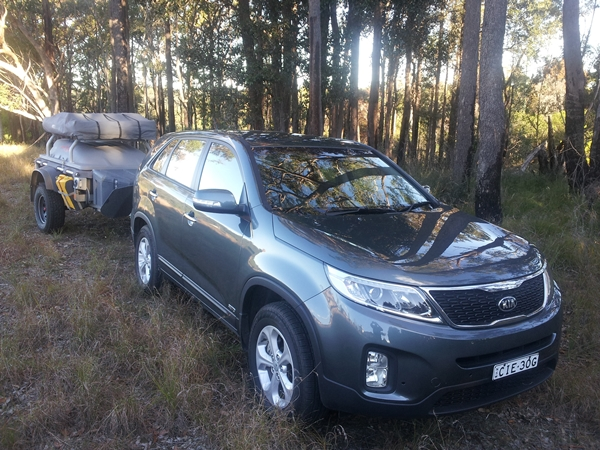 Kia Sorento SI Towing