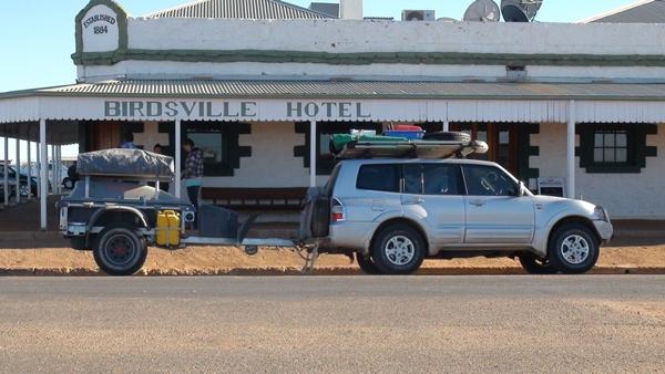 Pod Xtreme Off Roader Camper Trailer Birdsville Pub