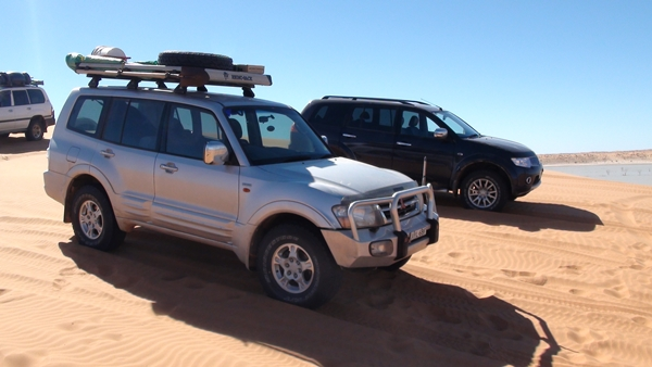 Project Pajero Flinders Ranges to Birdsville BIG red