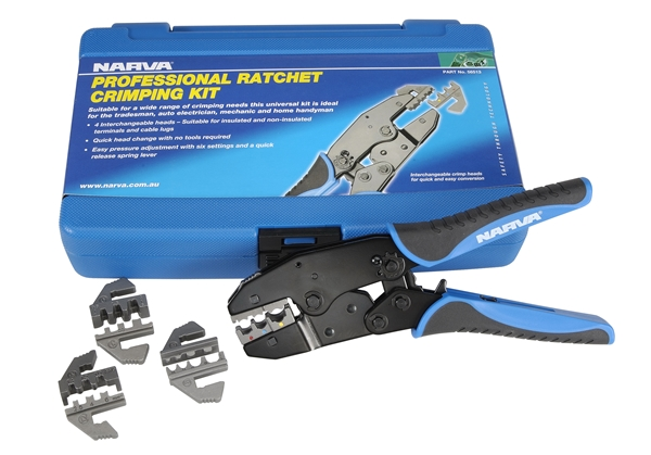2013 Narva_56513_Professional Ratchet Crimping Kit