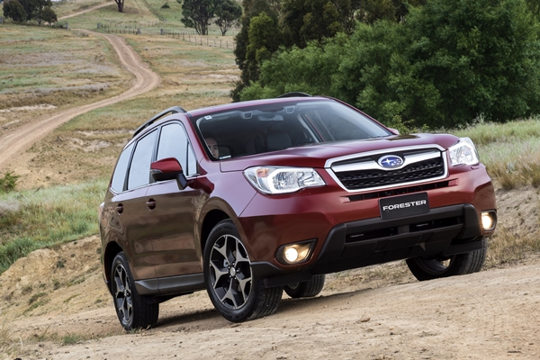 2013 Subaru Forester 2.5L front
