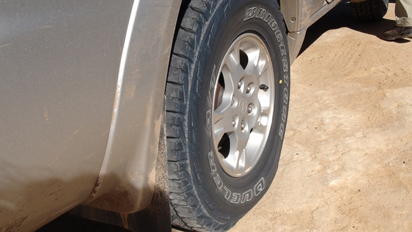 Project Pajero Bridgestone Dueler AT D697 LT tyres 10