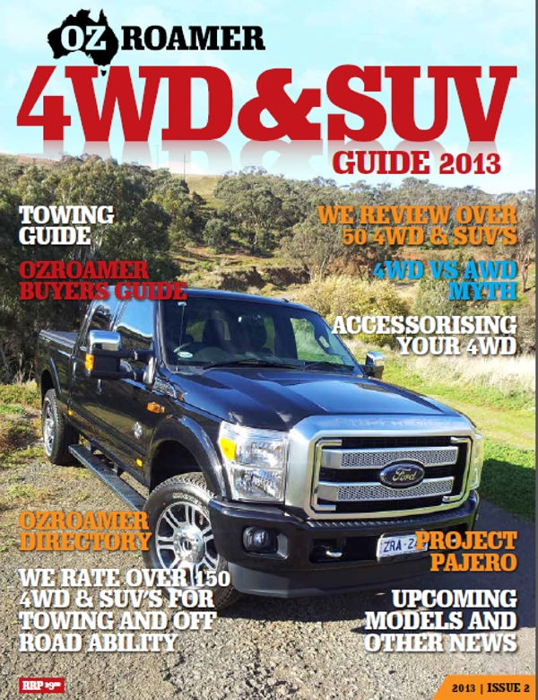 2013 OzRoamer 4WD & SUV Buyers Guide