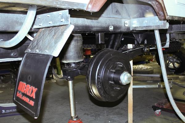 Brix project Viscount 12 inch brakes