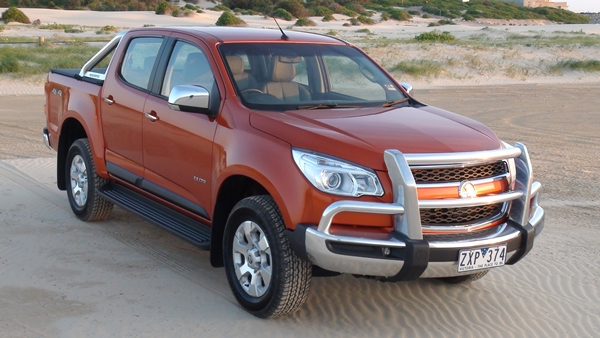 2014 Holden Colorado LTZ 2014 Front bull bar - OzRoamer