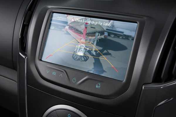 2014 Holden Colorado LTZ 6 SP reversing camera
