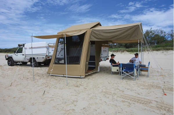 Travelander GEO 2 Camper Trailer setup web