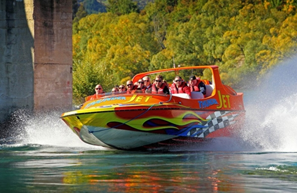 NZ 2014 Queenstown Thunder Jet Boat 2