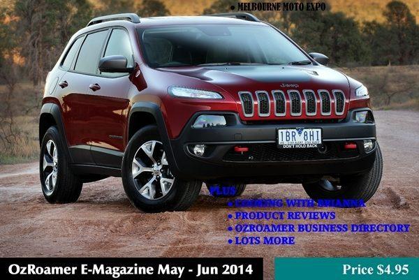 OzRoamer E Magazine May June 2014 Cover 600 x 400