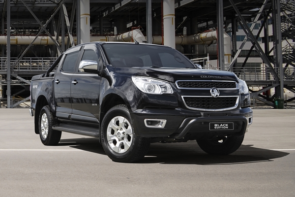 Holden Colorado 'Black Edition'