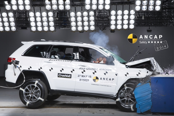 Jeep Grand Cherokeee Safety