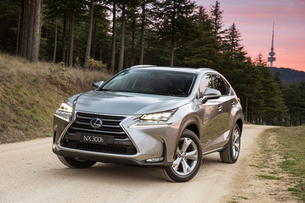 2015 Lexus NX 300h Sports Luxury