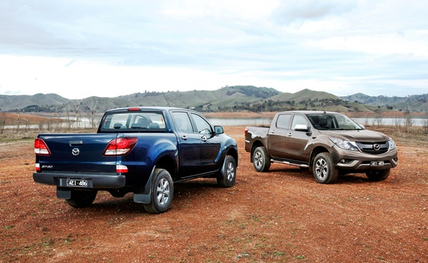 2016 Mazda BT 50 pricing