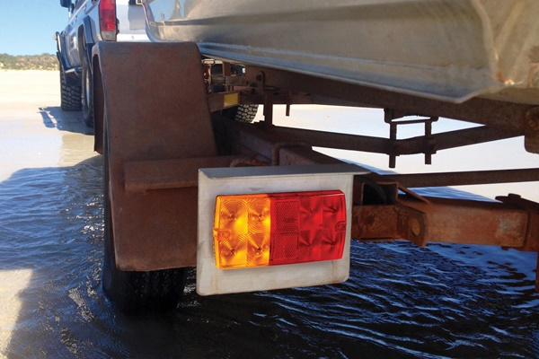 Model 36 Slimline Marine Trailer Lamp