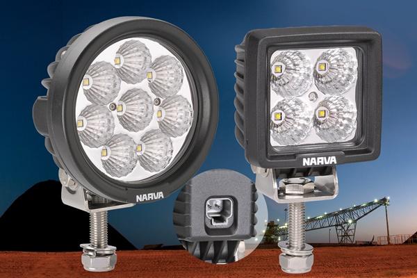 Narva Compact L.E.D Work Lamps 600