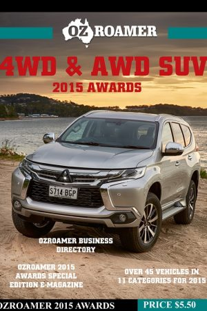 2015 OzRoamer 4WD & AWD SUV Awards Cover final