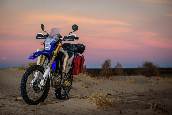 The first WR250R/X rally
