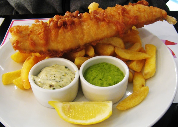 Favourite drives fish and chips