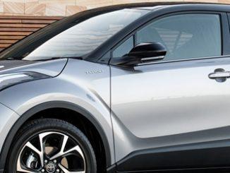 2017 Toyota C-HR Koba with optional black roof