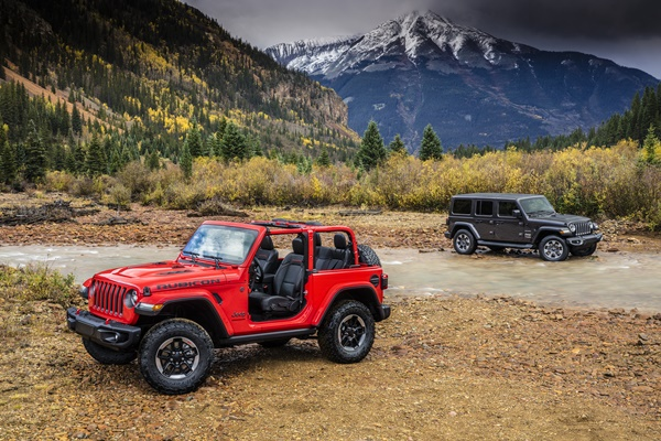 All-new 2018 Jeep® Wrangler Rubicon and All-new 2018 Jeep® Wra