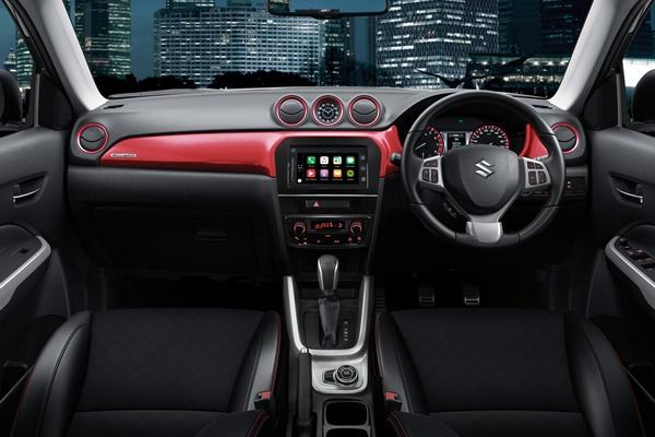 2018 COTY Suzuki Vitara S Turbo 4 f