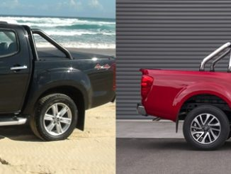 Isuzu D Max and Nissan Navara