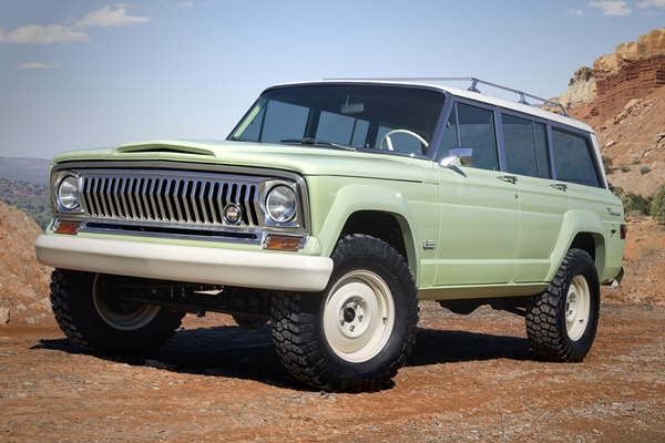 Jeep® Wagoneer Roadtrip Concept