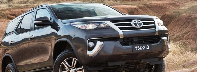 Toyota Fortuner GXL