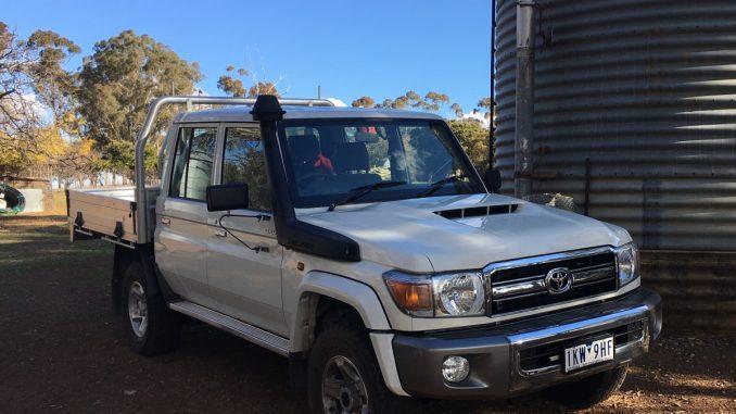 Toyota LC70 Dual Cab Ute GXL