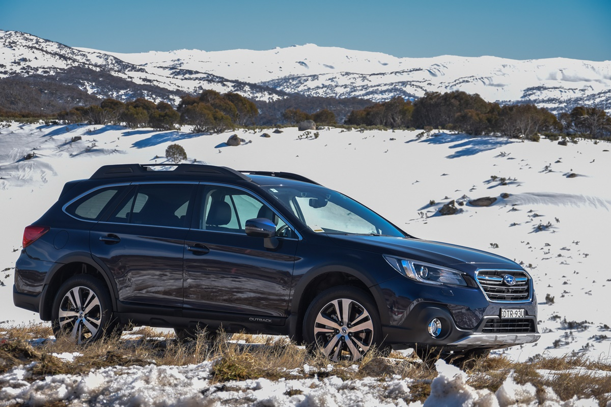 Subaru Perisher Valley drive