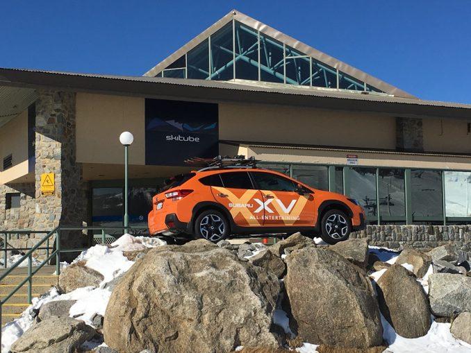 Subaru Perisher Valley drive