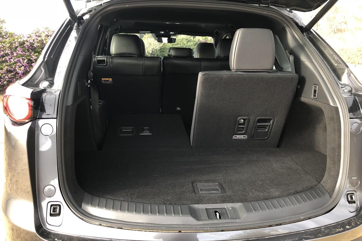 2019 Mazda CX-9 boot