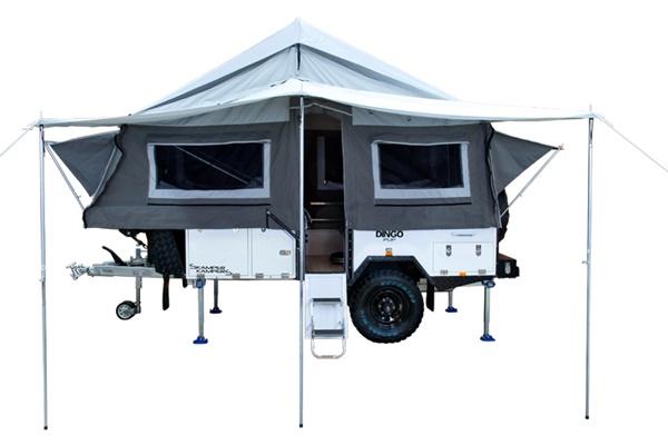 Skamper Kamper Dingo Pup tent side - OzRoamer