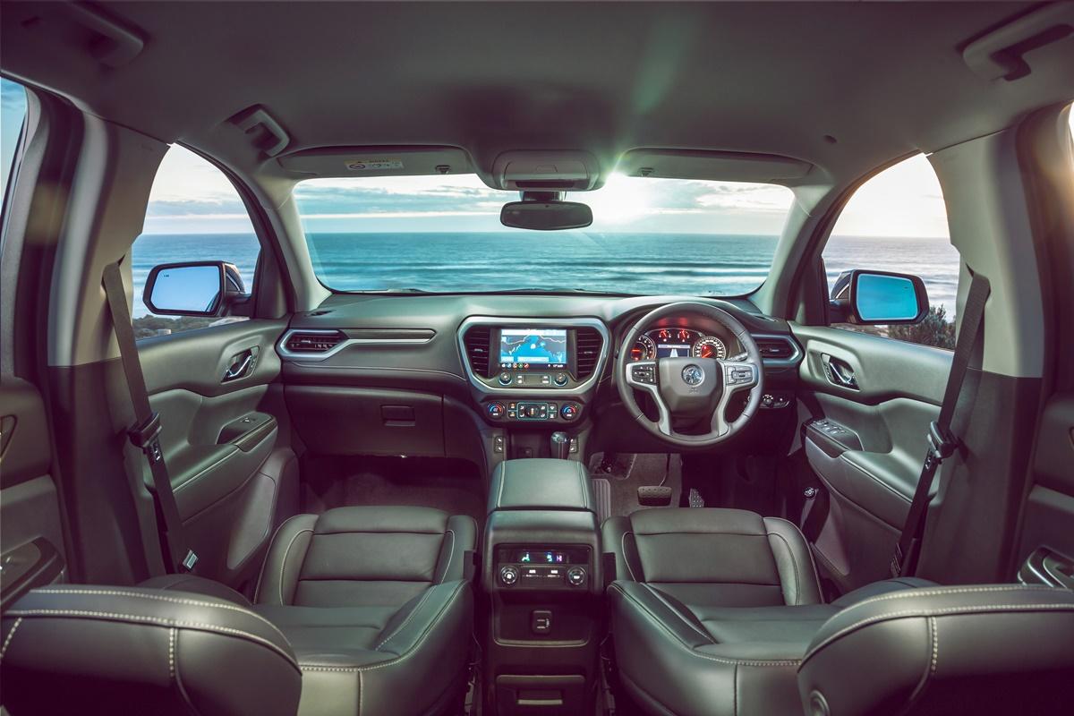 2019 Holden Acadia LTZ interior