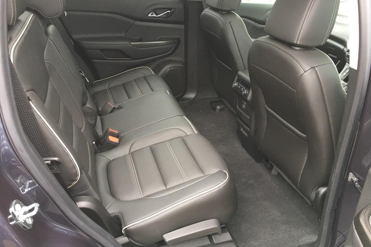 2019 Holden Acadia LTZ rear seat