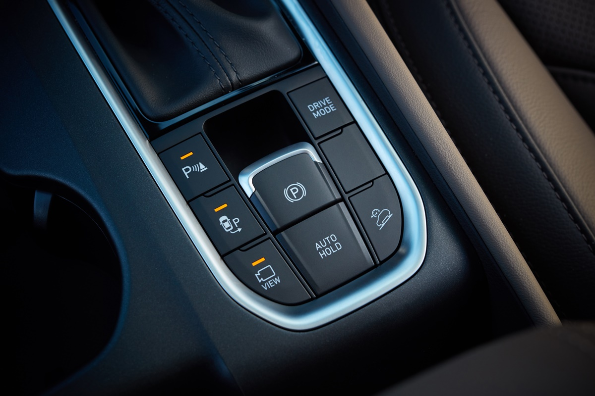 Hyundai Santa Fe drive mode