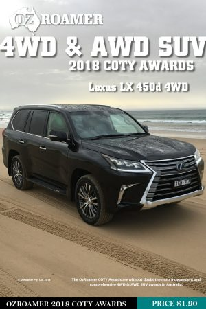 Lexus LX 450d 4WD COTY Review cover