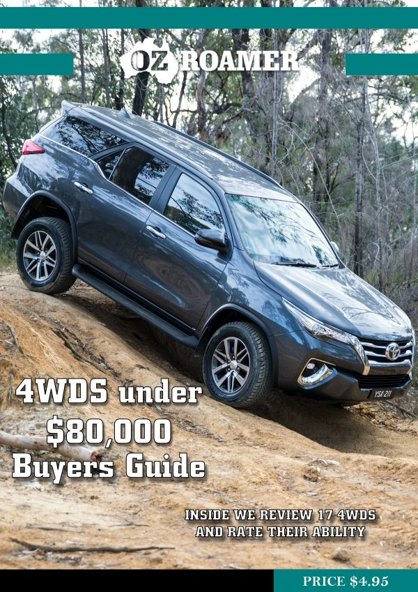 OzRoamer e-magazine 4WD under $80,000 Cover