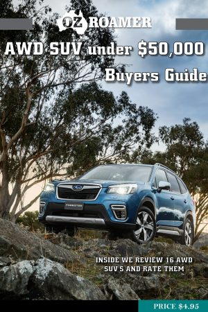 SUV Under $50,000 OzRoamer e-magazine COVER