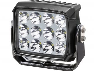 The HELLA RokLUME driving light features 12 high-powered LEDs and provides drivers with a high output forward beam, combined with a wide spread beam for edge of road illumination.
