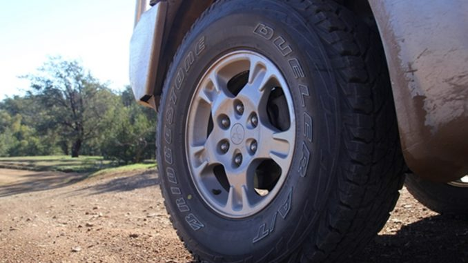Project Pajero Bridgestone Dueler AT D697 LT tyres 2