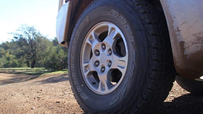Project Pajero Bridgestone Dueler AT D697 LT tyres 2