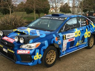 2019 Launceston Rally car