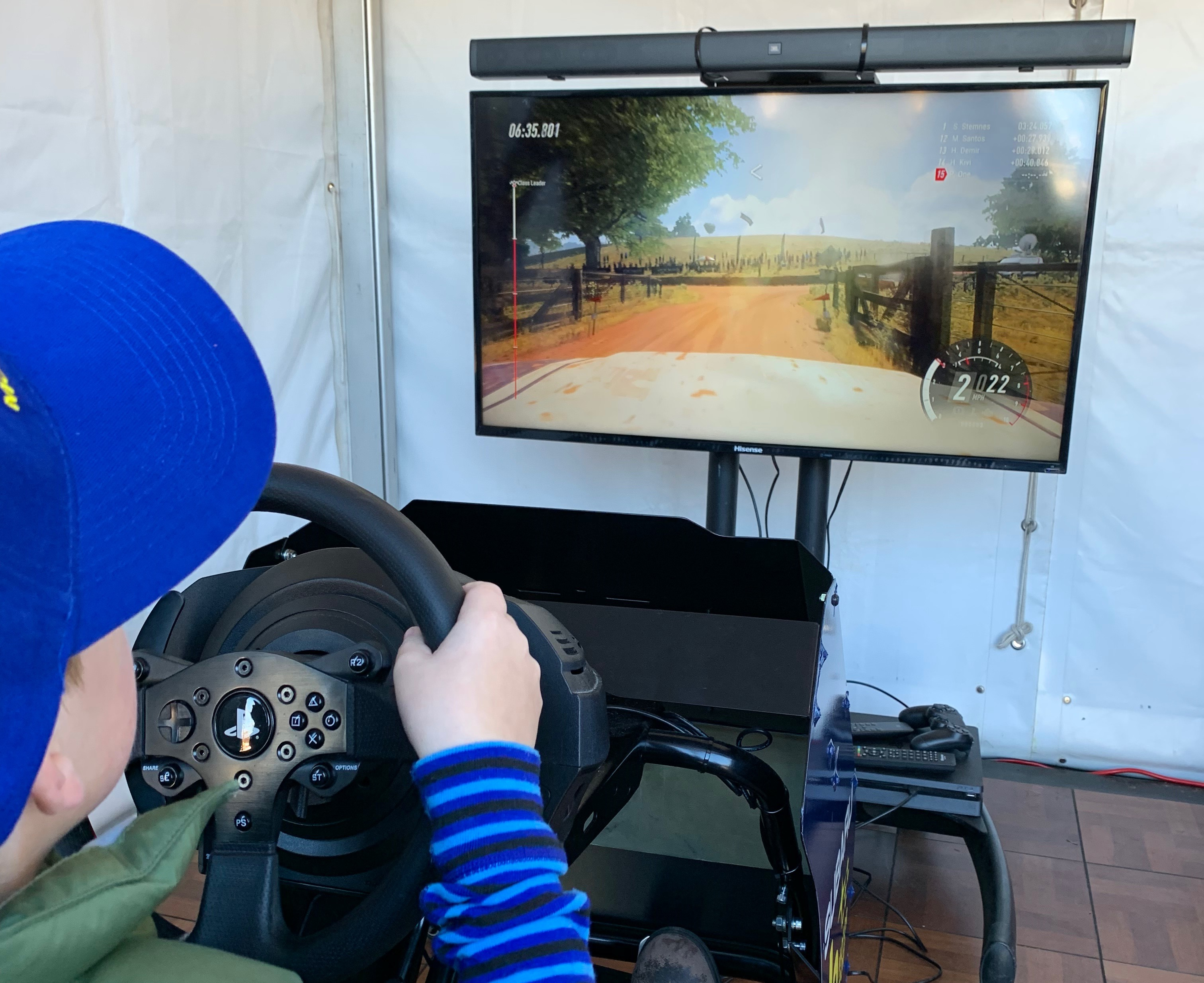2019 Launceston Rally simulator 2