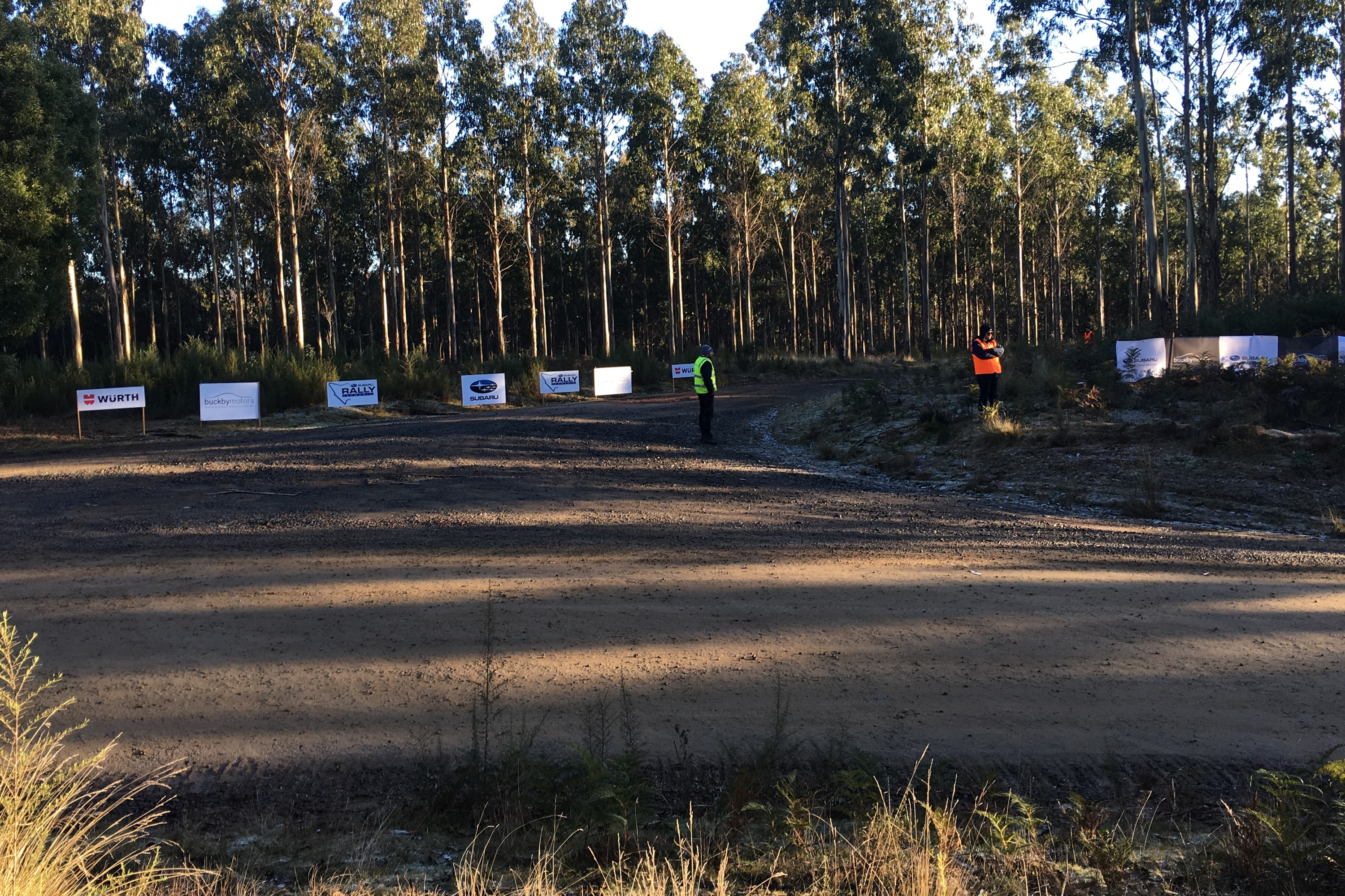 2019 Launceston Rally track